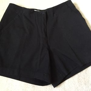 sz 2 black short shorts